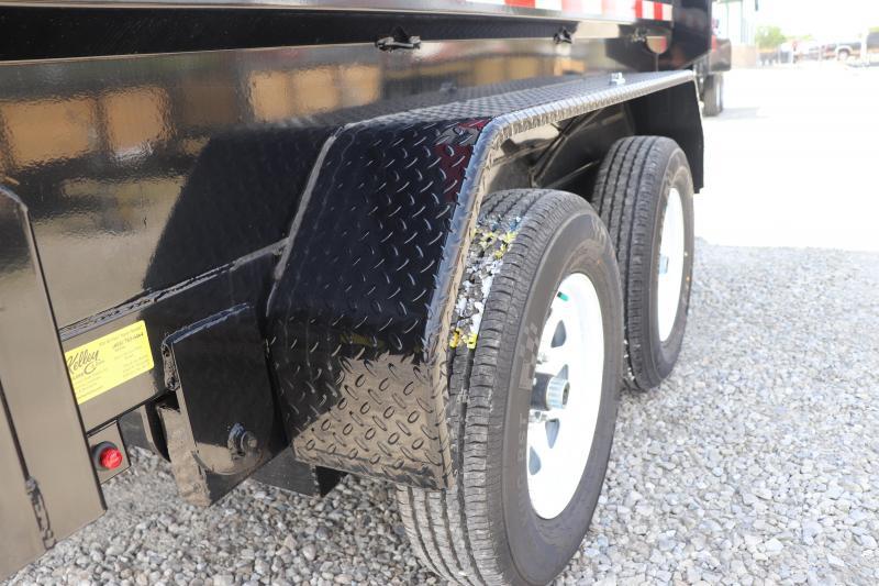 "2019 Sure-Trac 72"" x 10 7K Low Profile Single Ram Dump Trailer"