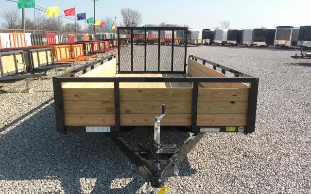 2018 Sure-Trac 7 x 16 Tandem Axle 3 Board
