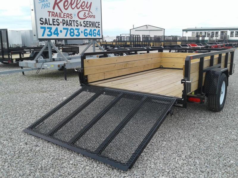 2018 Sure-Trac 6x10 3-Board Utility Trailer