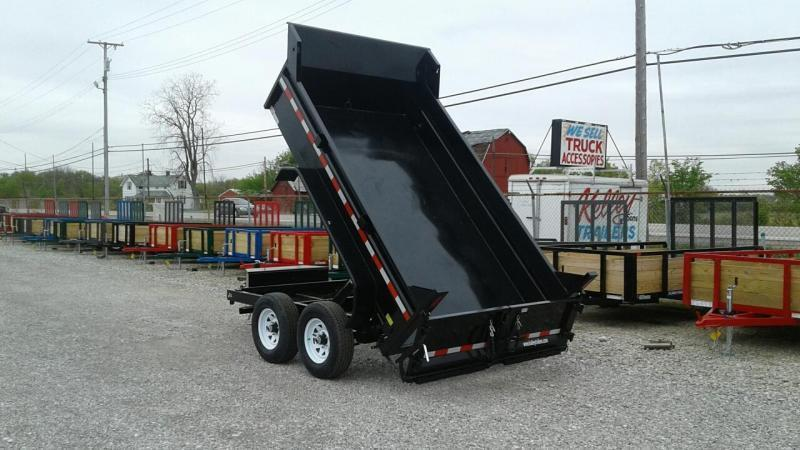 "2019 Sure-Trac 72""x10 10K Single Ram Dump Trailer"