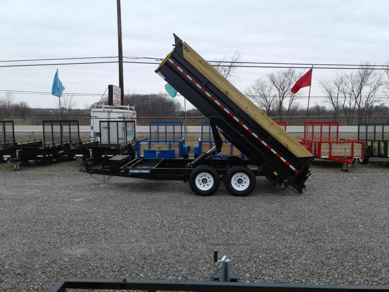 2018 Sure-Trac 14' 14K Scissor Dump Pro Series Trailer