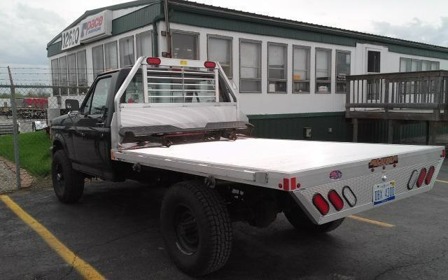 2019 Aluma 81106 Single Wheel Long Bed Aluminum Truck Bed
