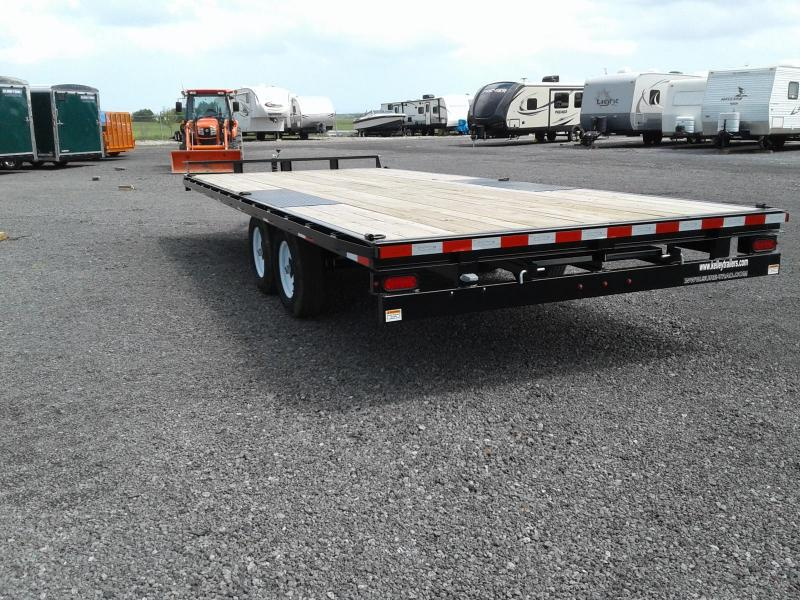 2018 Sure-Trac 8.5x20 10K Flat Deck Deckover Equipment Trailer