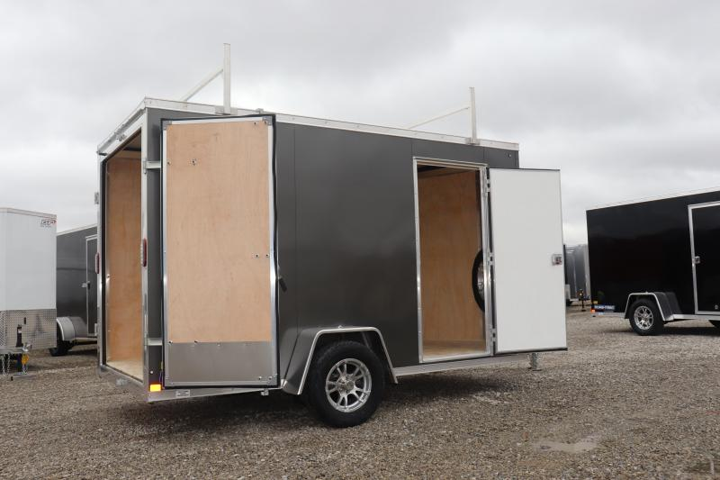 2019 Sure-Trac 6x12 Pro Series Wedge Enclosed Cargo Trailer w/ Double Doors
