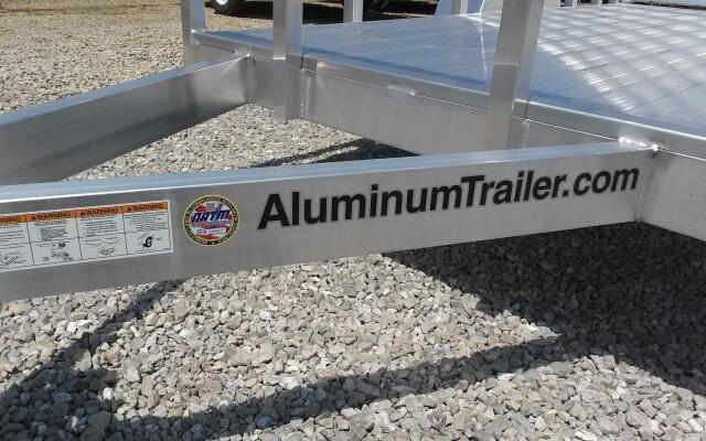 2019 ATC 5x10 Aluminum Open Utility Trailer