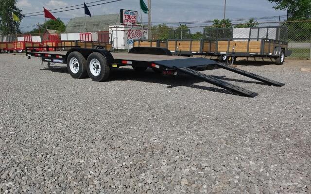 2019 Sure-Trac 7x20 10K Wood Deck Car Hauler