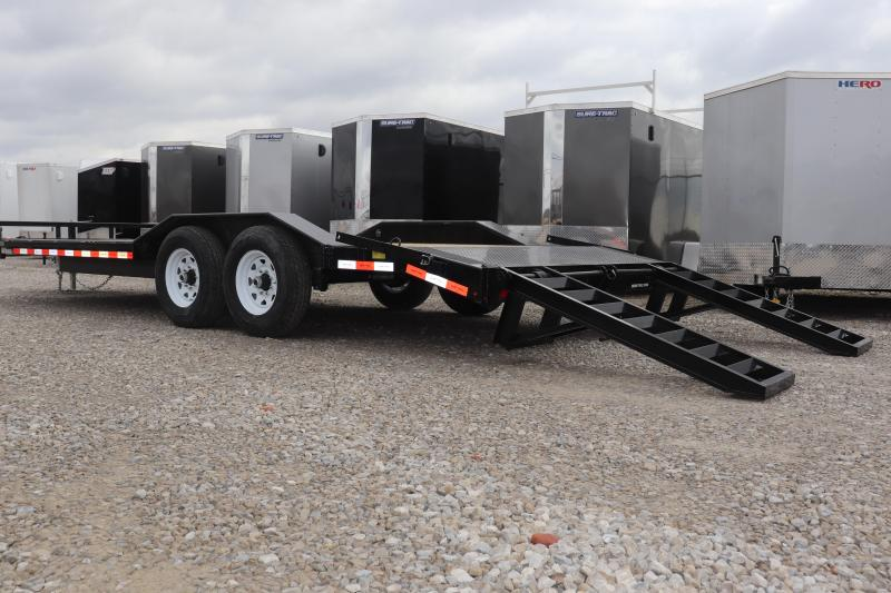 2019 Sure-Trac 8.5x20 14K Drive Over Fender Implement Equipment Trailer