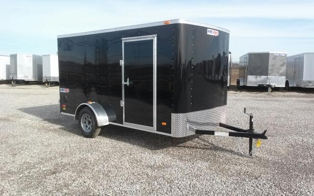 2019 Bravo Hero 6 x 12 w/ Double Doors