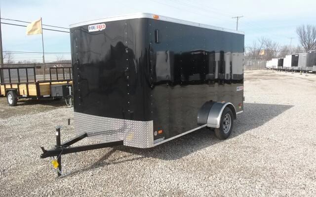 2019 Bravo Trailers 6x12 Hero Enclosed Trailer w/ Double Doors