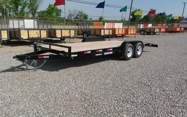 2019 Sure-Trac 7x20 10K Wood Deck Car Hauler