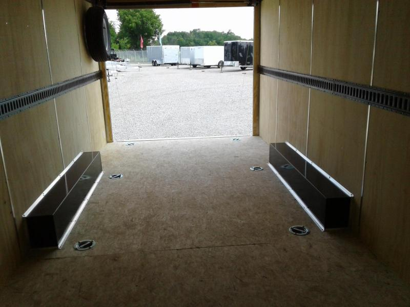 2018 Sure-Trac 8.5x20 10K Pro Series Wedge Cargo Enclosed Trailer