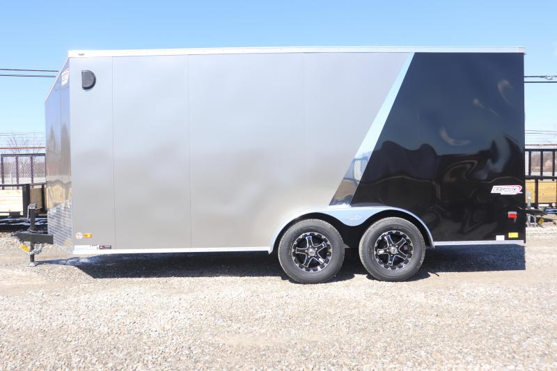 2019 Bravo Trailers 7x16 7K Scout w/ Ramp Door Enclosed Cargo Trailer