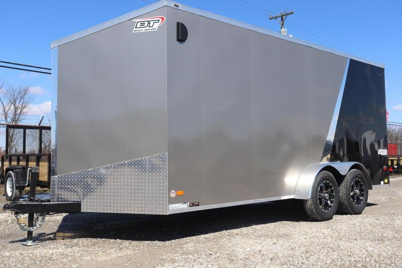 2019 Bravo Trailers 7x16 7K Scout w/ Ramp Door Enclosed Cargo Trailer