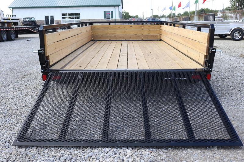 2020 Sure-Trac 7x14 7K 3-Board Tandem Axle Utility Trailer