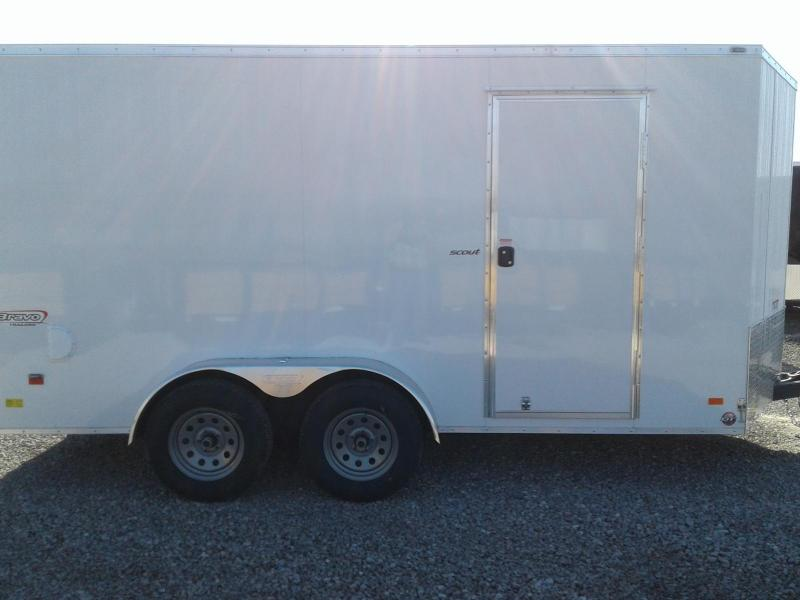 2019 Bravo Trailers 7 x 14 Scout Enclosed Cargo Trailer