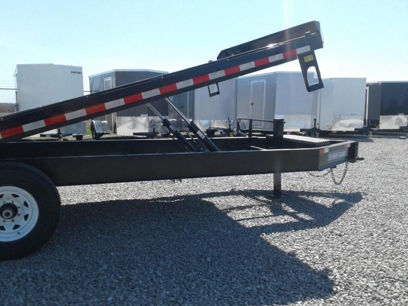 2018 Sure-Trac 8.5x22 15K Powertilt Deckover Equipment Trailer