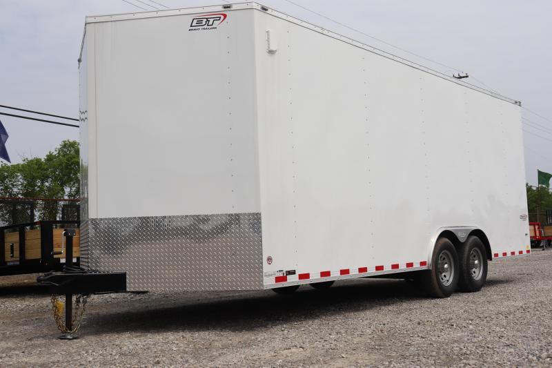 2020 Bravo Trailers 8.5x20 10K Scout Car Racing Trailer