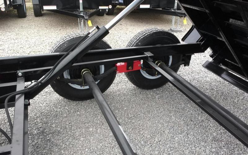 "2019 Sure-Trac 82""x12' 12K Dual Ram Dump Trailer"
