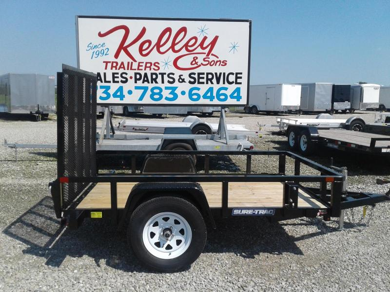 2018 Sure-Trac 5x8 Tube Top Utility Trailer