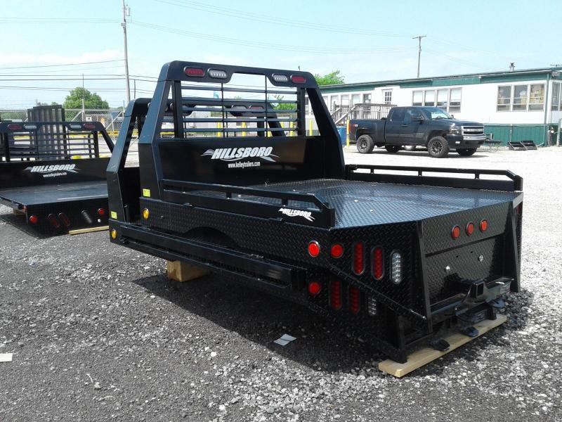 2018 Hillsboro Industries GII Steel SWSB Truck Bed