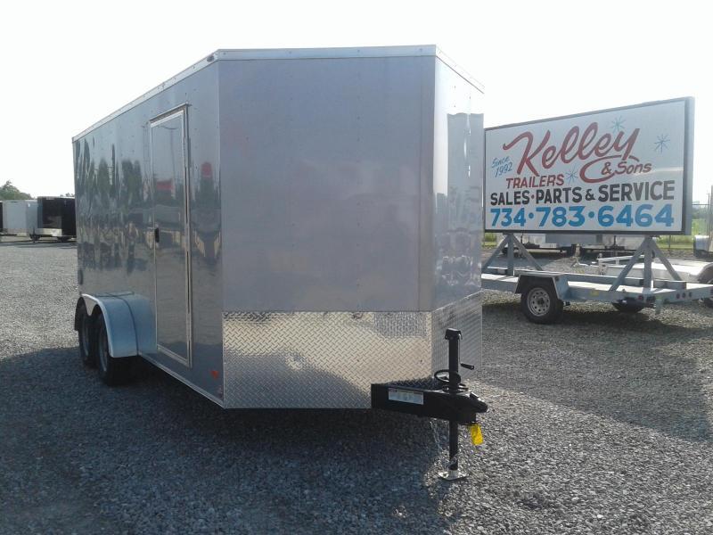 2019 Bravo Trailers Scout 7x16 w/ Ramp Door Enclosed Cargo Trailer