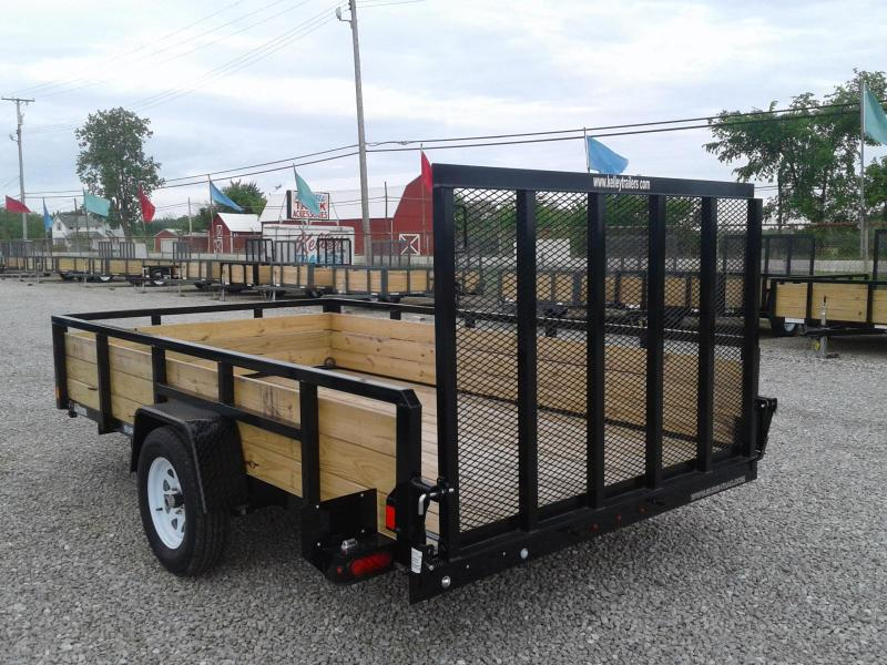 2019 Sure-Trac 7x12 3-Board Utility Trailer