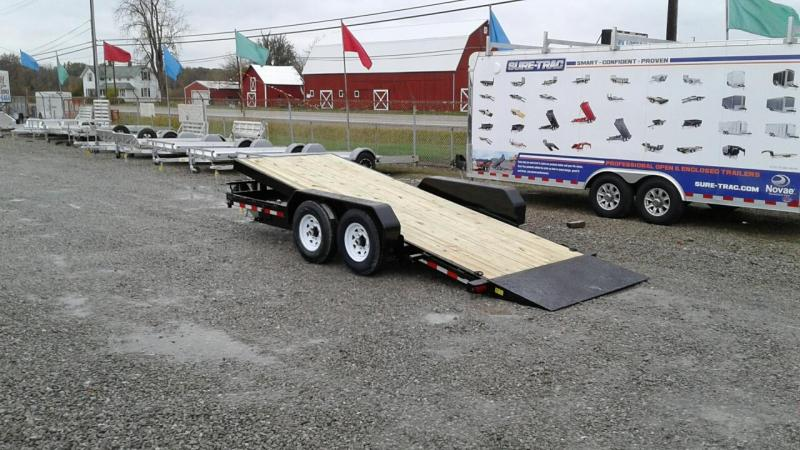 2018 Sure-Trac 18' 14K Tilt Equipment Trailer