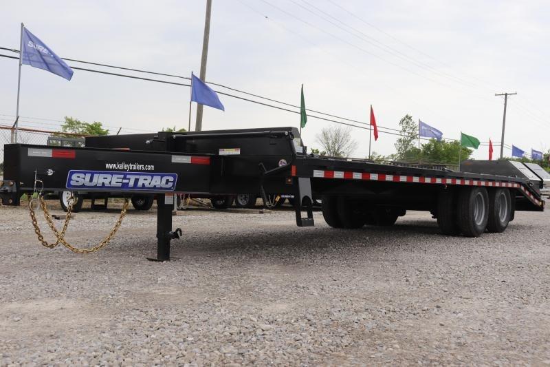 2019 Sure-Trac 8.5x20+5 22.5K Low Pro Beavertail Deckover