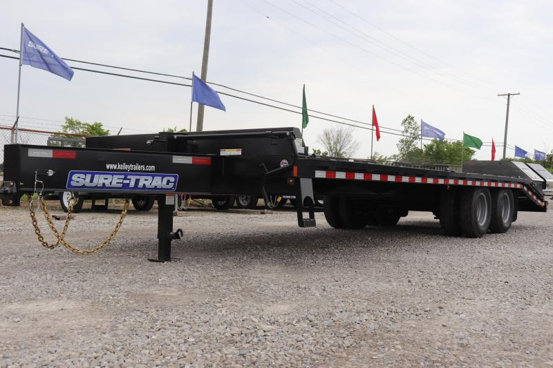 2019 Sure-Trac 8.5x20+5 22.5K Low Pro Beavertail Deckover