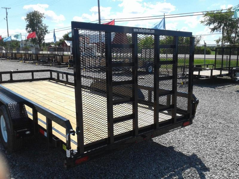 2019 Sure-Trac 7x18 10K Tube Top Utility Trailer