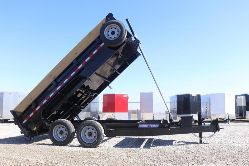 2019 Sure-Trac 82INX14 16K Low Pro Telescopic Dump