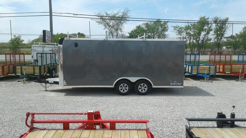 2018 Sure-Trac 8.5x18 10K Contractor Pro Enclosed Cargo Trailer