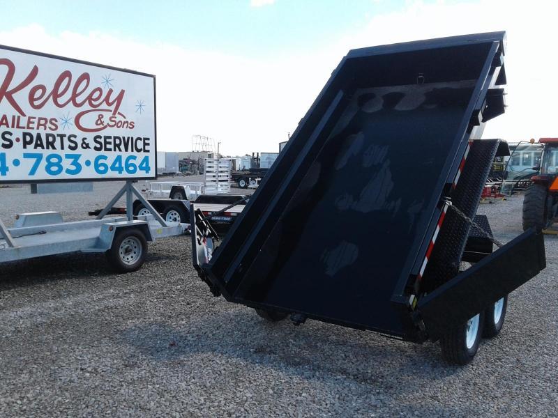 "2018 Sure-Trac 62""x10 7K Single Ram Dump Trailer"