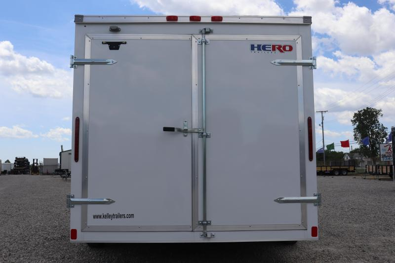 2020 Bravo Trailers 7x16 Hero Enclosed Cargo Trailer