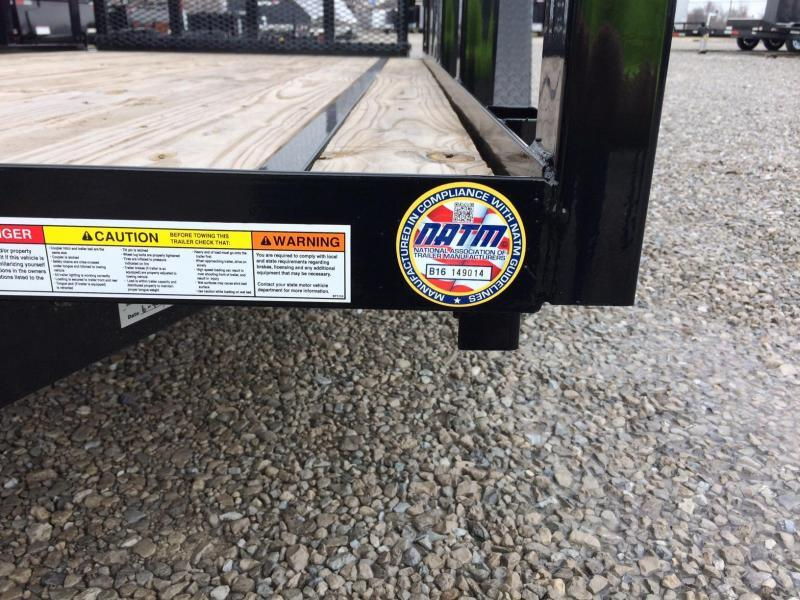 2018 Sure-Trac 5x10 Tube Top Utility Trailer