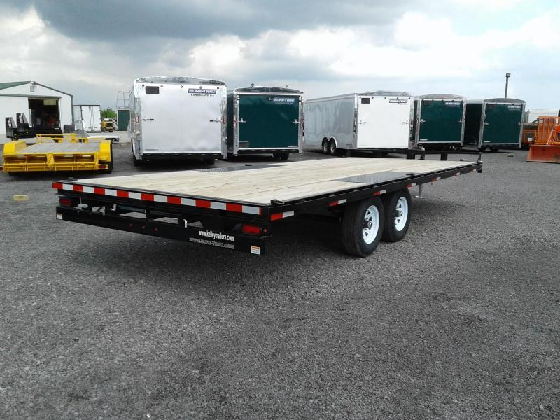 2019 Sure-Trac 8.5x20 10K Flat Deck Deckover Equipment Trailer
