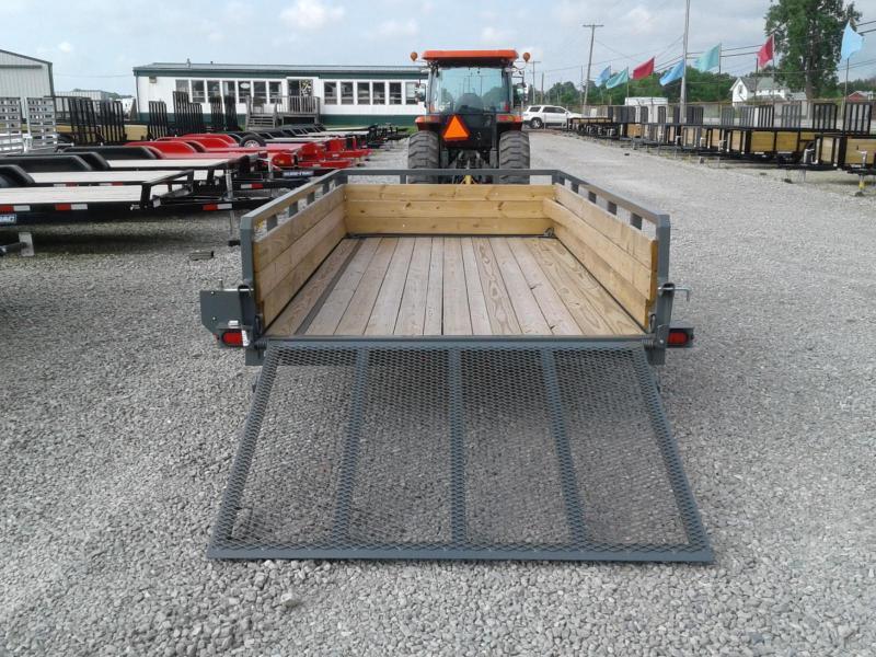 2018 Sure-Trac 6x12 3-Board Utility Trailer