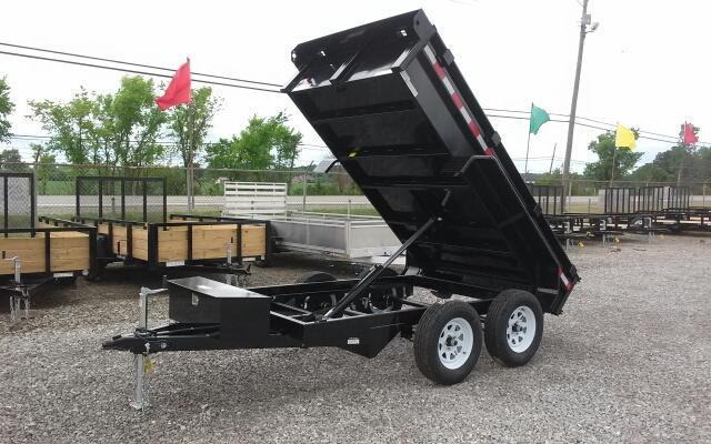 "2018 Sure-Trac 62"" x 10 7K Low Profile Dump"