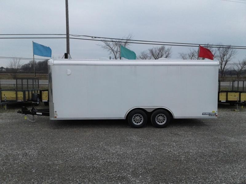 2019 8.5x20 10K Sure-Trac Round Top Landscape Pro Enclosed Cargo Trailer