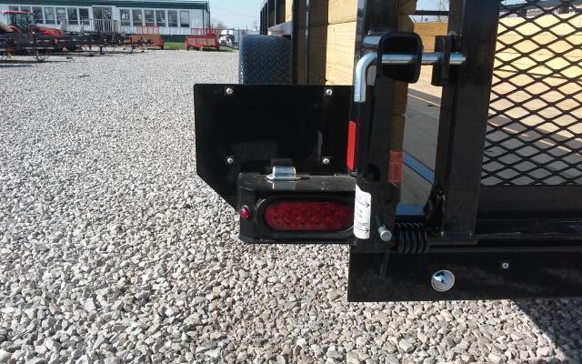 2019 Sure-Trac 7x16 7K 3-Board Utility Trailer