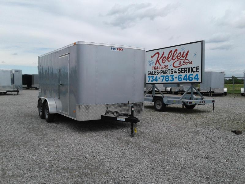 2019 Bravo Trailers 7x14 Hero w/ Double Doors Enclosed Cargo Trailer
