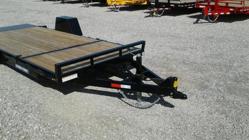 "2018 Sure-Trac 78"" x 12 + 4 Tilt Bed Equipment Single Axle"