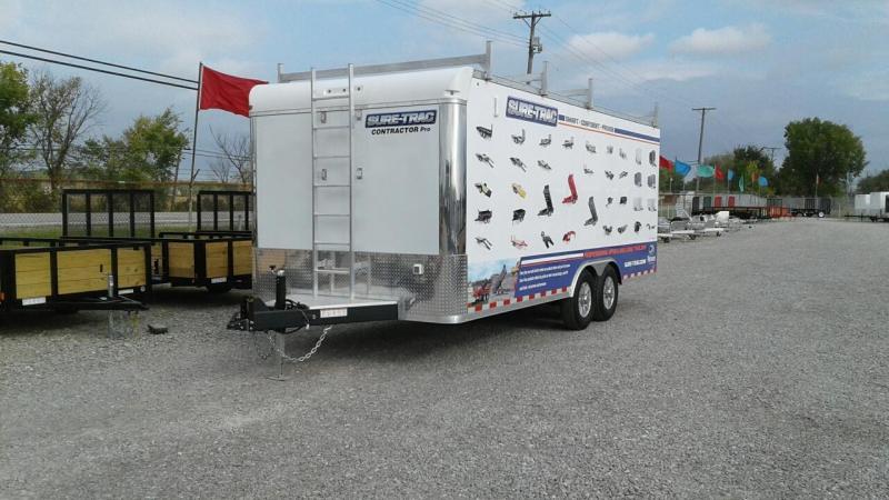 2019 Sure-Trac 8.5x20 14K Contractor Pro Enclosed Cargo Trailer