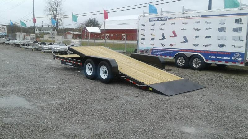 2018 Sure-Trac 18+4 14K Tilt Bed Equipment Trailer