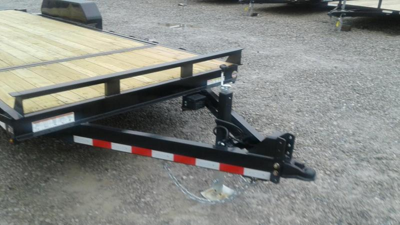 2018 Sure-Trac 18' + 4 14K Tilt Bed Equipment Trailer
