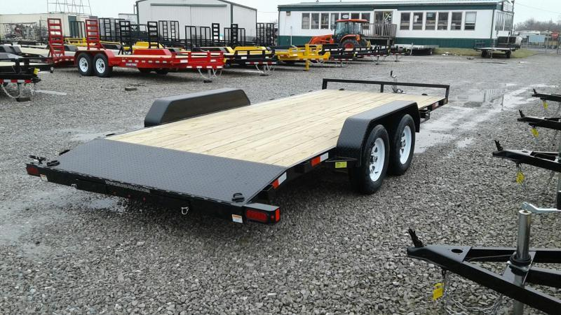 2018 Sure-Trac 18' 7K Wood Deck Car Hauler