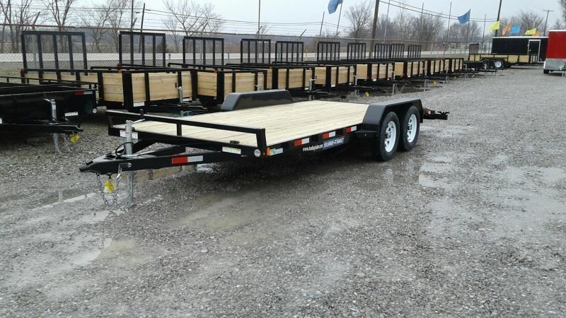 2019 Sure-Trac 7x18 7K Wood Deck Car Hauler