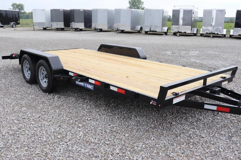 2020 Sure-Trac 7x18 7K Wood Deck Car Hauler