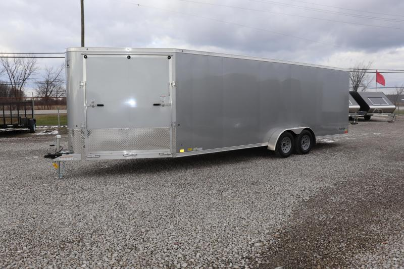 2019 Aluminum Trailer Company 7x22+6 4-Place Snowmobile Trailer