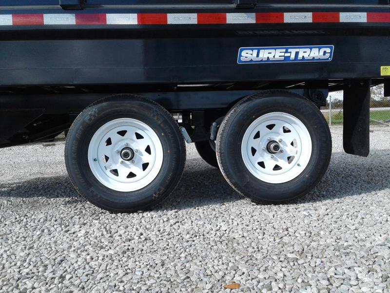 "2018 Sure-Trac 72""x10 7K Single Ram Deckover Dump"